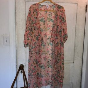 LulaRoe Light Shawl